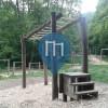 Wiesbaden - Workout Park - Nordfriedhof