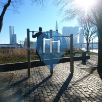 Rotterdam - Outdoor Gym - Pullup Bar Zu Heilden Koers Park
