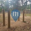Outdoor Pull Up Bars - Saint-Nectaire - Parcours Sportif Parc Dolmen