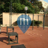 Los Angeles - Outdoor Pull Up Bars - University of Southern California (Cromwell Track & Field)