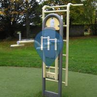 Женева  - уличных спорт площадка - Parc des Franchises