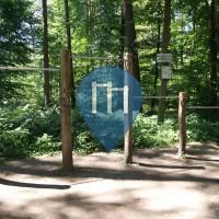 Karlsruhe-Waldstadt - Percorso Fitness - Hardtwald