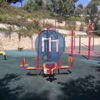 Tel Aviv - Outdoor Gym - Avraham Garden