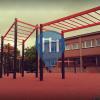 Třinec - Calisthenics Park - Fotbalový stadion