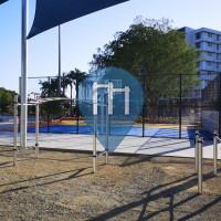 Gym en plein air - Brisbane - Bodyweight Fitness Hamilton - Portside