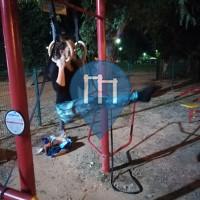 יהוד מונוסון - 徒手健身公园 - Oklahoma park