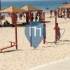 Tel Aviv - Workout station at the beach