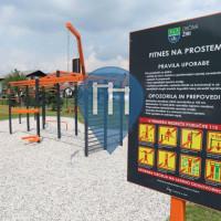 Street Workout Park - Žiri - Zunanji Fitness OS Ziri