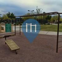 Las Vegas - Gimnasio al Aire Libre - Charlie Frias Park