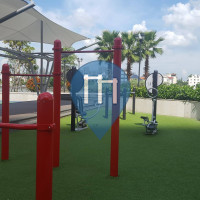 Ho Chi Minh City - Outdoor Exercise Gym - Vinhomes Central Park