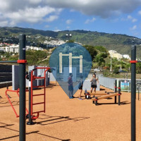 Barra per trazioni all'aperto - Saint-Denis - Parc de street workout & parkour de Champ Fleuri