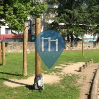 Saint-Chamond - уличных спорт площадка - Stade Antoine Pauze