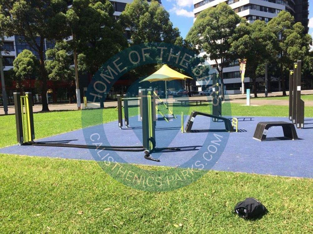 Sydney Freeletics Park Jungle Gym Outdoor Sports Area