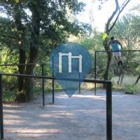 Визеу - Воркаут площадка - Parque do Fontelo