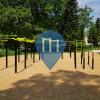 уличных спорт площадка - Мериньяк - Outdoor Fitness Parc de Bourran - Victor Schoelcher