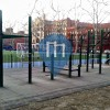 New York  - Outdoor Fitness Park - Thomas Jefferson Park