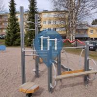 Спортивный комплекс под открытым небом - Лахти - Sorvarinpuisto fitness corner
