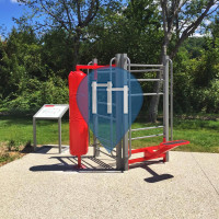 Calisthenics Park - Entrelacs - Aire de fitness AirFit - Saint Girod
