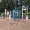 Воркаут площадка - Фюрт - Calisthenics Park Siebenbogenbrücke