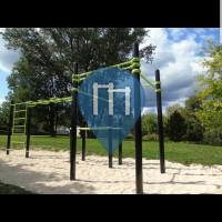 Gorcy - Calisthenics Stations - Street Workout Park Gorcy