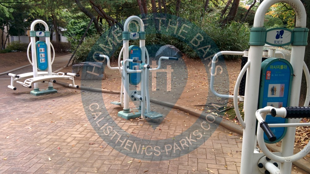 Seoul Outdoor Fitness Stations Gaepo2 Dong South