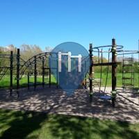 Rezé - Parco Calisthenics - Promenade des Bords de Sèvre