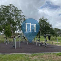 Турник / турники - Dayboro - Outdoor Fitness Station Tullamore Park