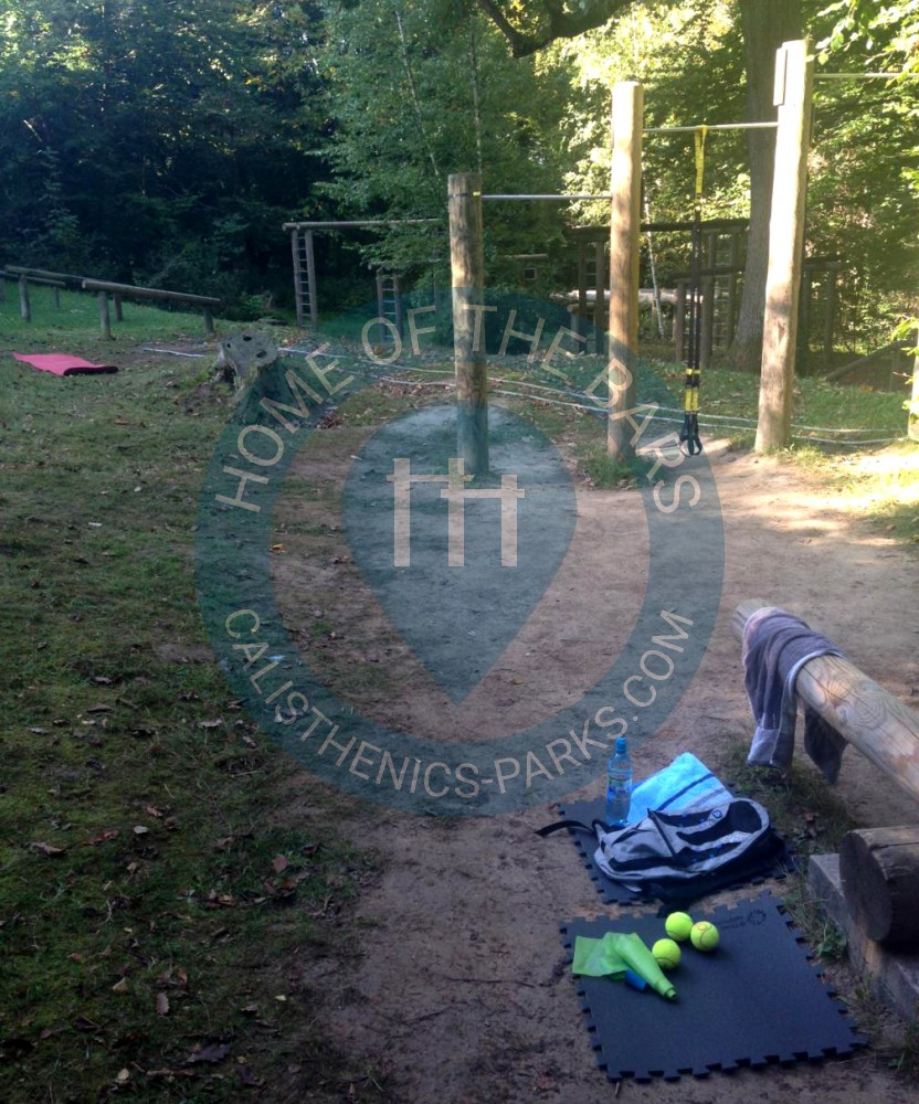 Warriors Path State Park Wedding: Outdoor Fitness Stations