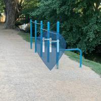 Barra per trazioni all'aperto - Carcassonne - Outdoor Fitness Parc de Camin del Garric