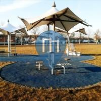 Randers - Parque Calistenia - Tronholmen Fitness Course