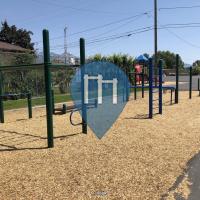 Calisthenics-Anlage - Salt Lake City - Hawthorne Elementary Calisthenics Playground