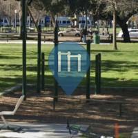 Calisthenics-Stationen - San José - Outdoor Gym St. James Park