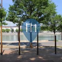 Lyon - Parc Street Workout - Quai Claude Bernard