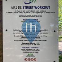 徒手健身公园 - 圣莫尔-德福塞 - Aire de Street Workout