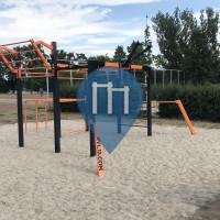 Ораниенбург - Воркаут площадка - Sport- und Spielplatz am Lehnitzsee