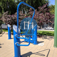 San Francisco - Outdoor Fitness Station - Hayes Valley Playground