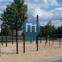 Dresde - Parque Calistenia - 126. Grundschule