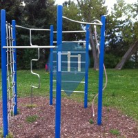 Bernburg Saale - Street Workout Park - Fuhne