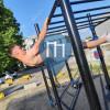 Barras dominadas - Bruxelas - Outdoor Fitness Rue Victor Allard Merlo