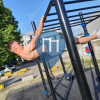 уличных спорт площадка - Брюссель - Outdoor Fitness Rue Victor Allard Merlo