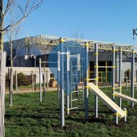 Ermont - Parque Calistenia - Complexe sportif Gaston Rebuffat