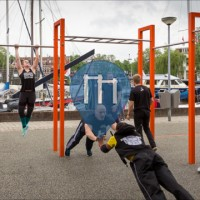Groningen - Outdoor Gym - Ijslander (BarForz)