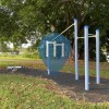 Outdoor Pull Up Bars - Brisbane - Outdoor Fitness Gracelands Riverside Parkways