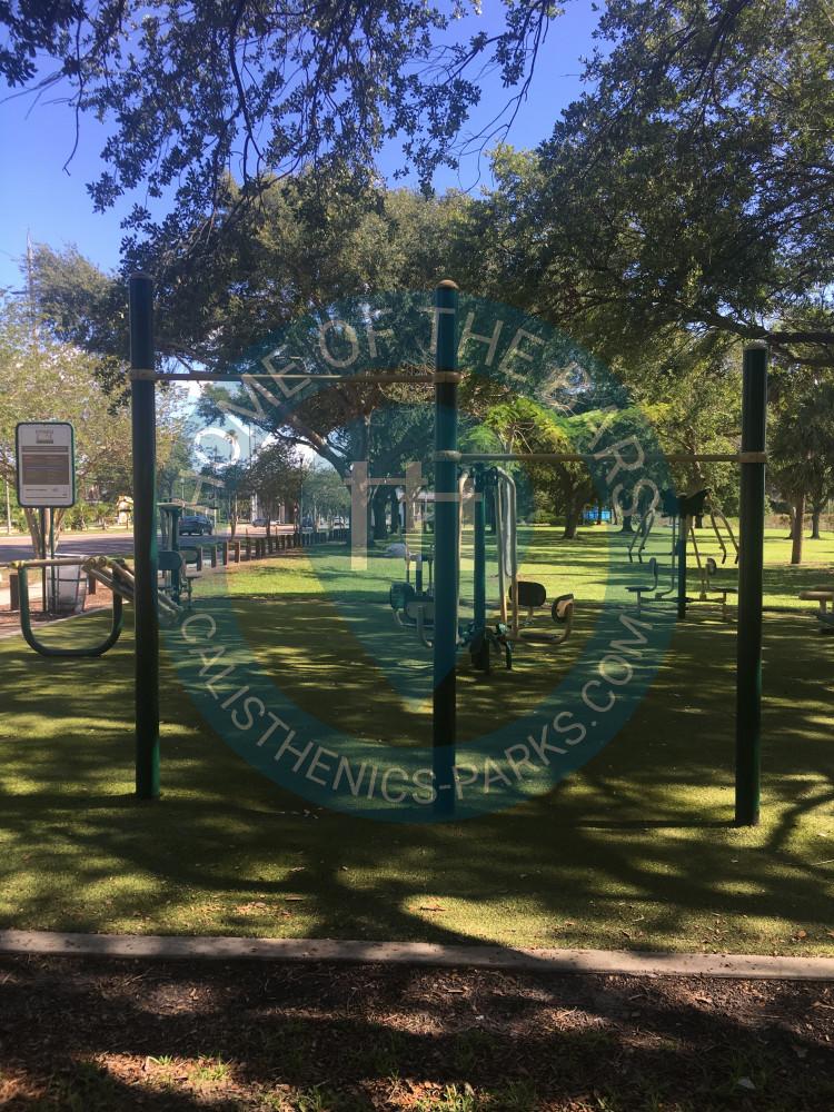 Saint Petersburg Fl Outdoor Fitnesspark Campell Park