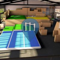 INDOOR - Hamburg - Calisthenics Gym - Die Halle - Creation Center  Oberhafen
