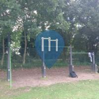 Kortrijk - Воркаут площадка - Sports Centre Zwevegem
