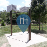 Houston - Barras de dominadas al aire libre - Buffalo Bayou Hike and Bike trail