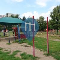 Warszawa - Parco Street Workout - Popiersie Edwarda Szymańskiego