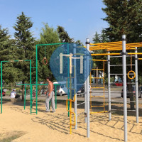 Calisthenics Facility - Batumi - Outdoor Fitness Bicylce Lane