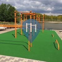 Győr - Calisthenics Park - Víziport Egyesüet